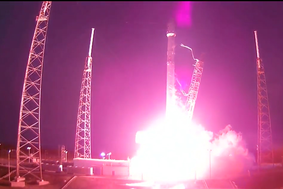 Liftoff! SpaceX Falcon 9 Soars