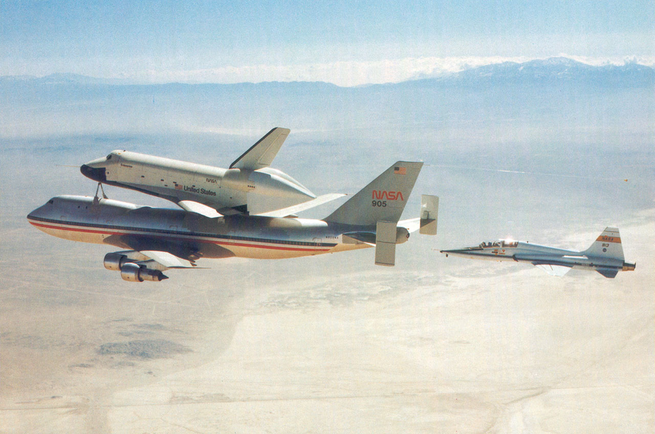 NASA Jet to Be Reunited with Space Shuttle Enterprise at NYC Museum