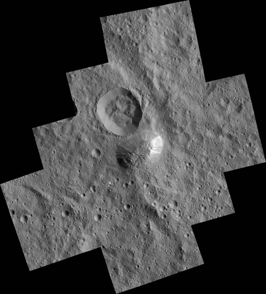Ceres' Mountain Ahuna Mons