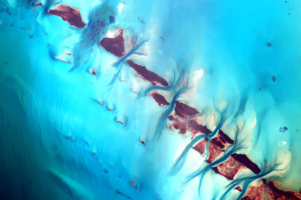 The Bahamas from Space