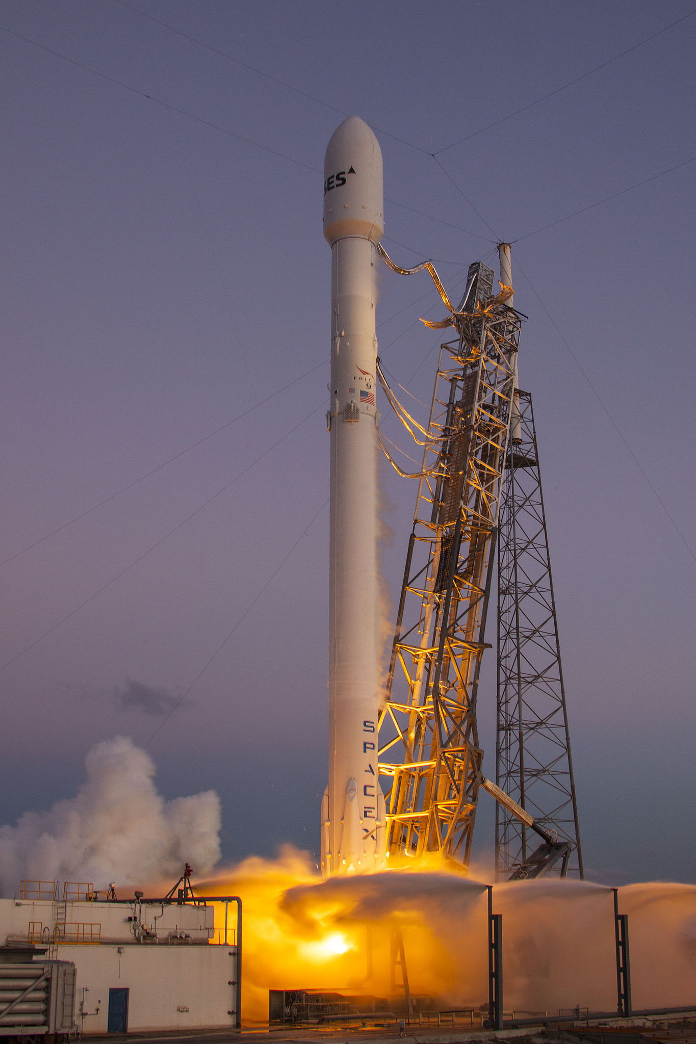 SES-9 Launches