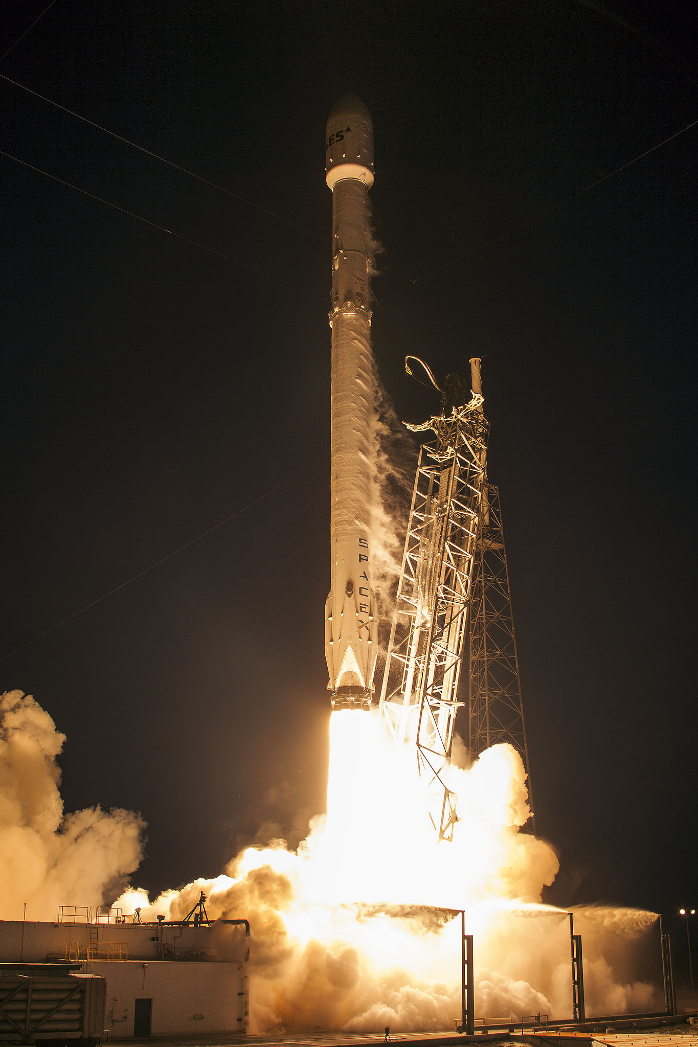 SES-9 Launch at Cape Canaveral