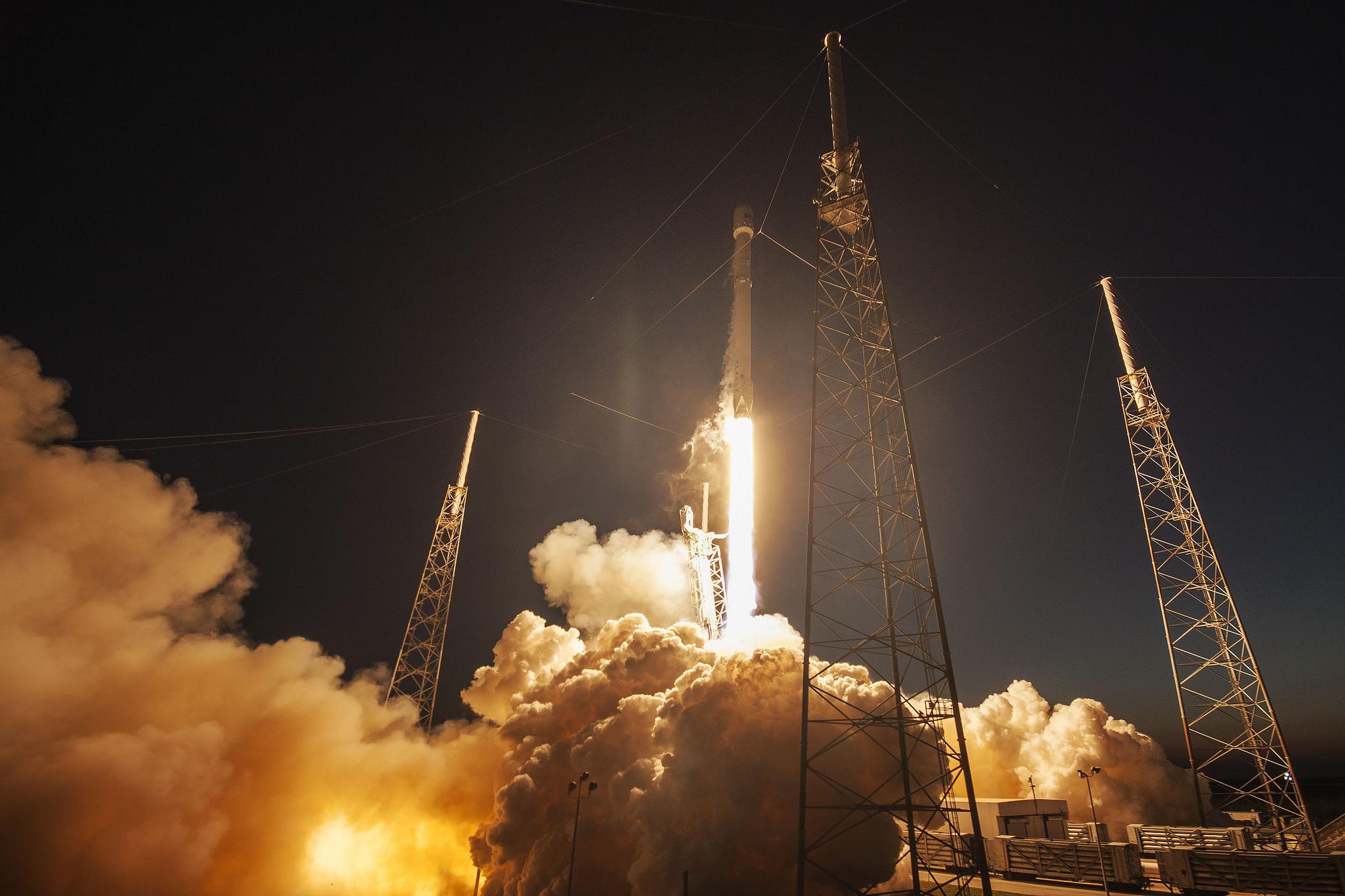 Falcon 9 Rocket SES-9 Launch