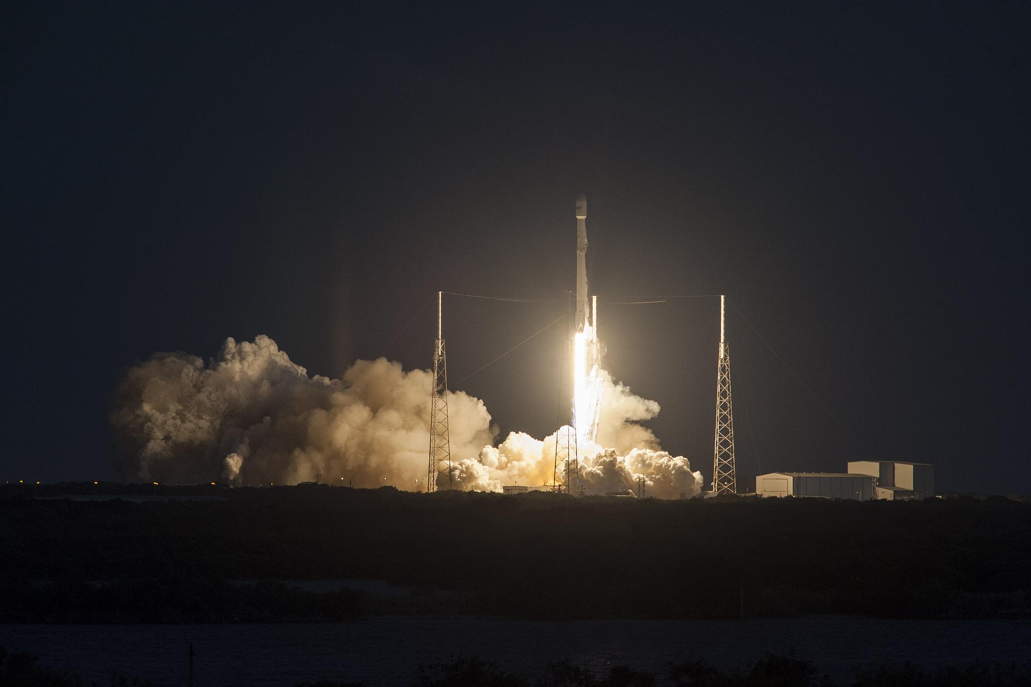 SES-9 Falcon 9 Rocket Launch