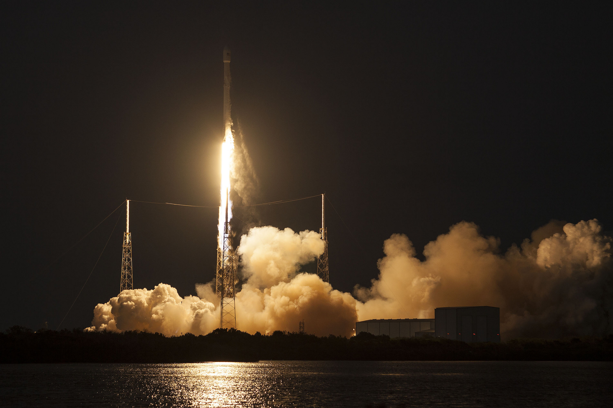 SpaceX SES-9 Launch