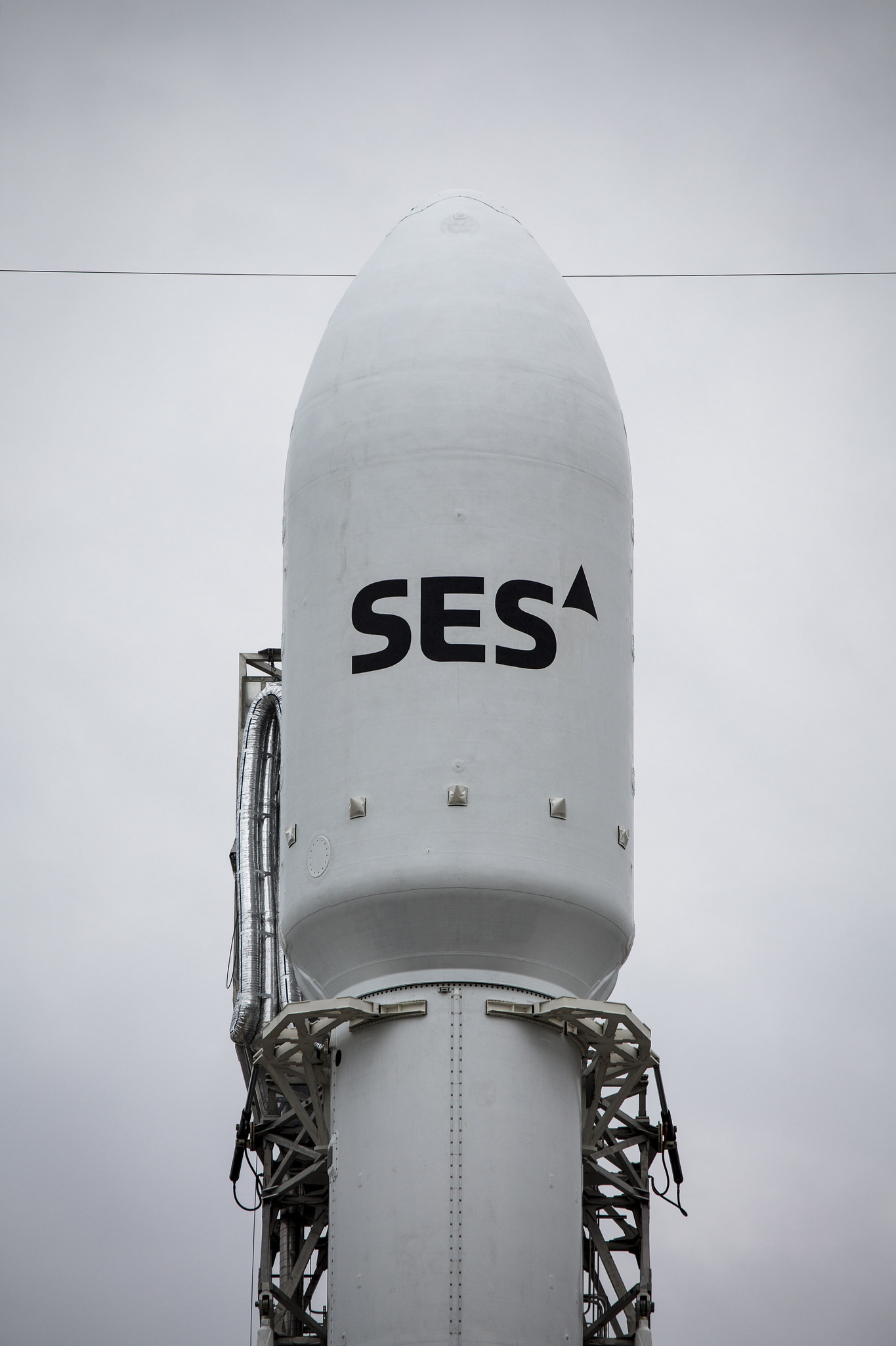 SES-9 Satellite Close-Up