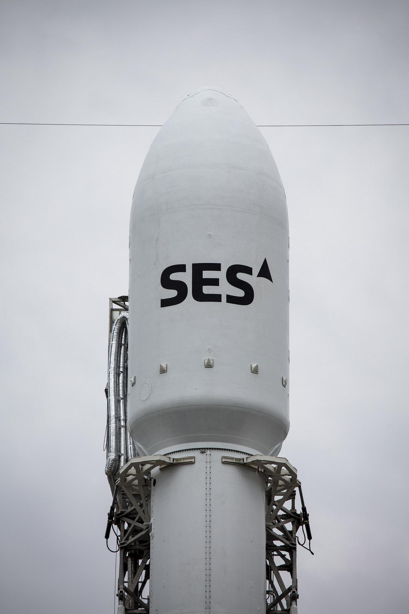 SES-9 Satellite Close-Up
