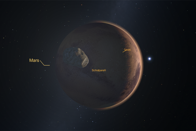 Mars in Star Chart VR