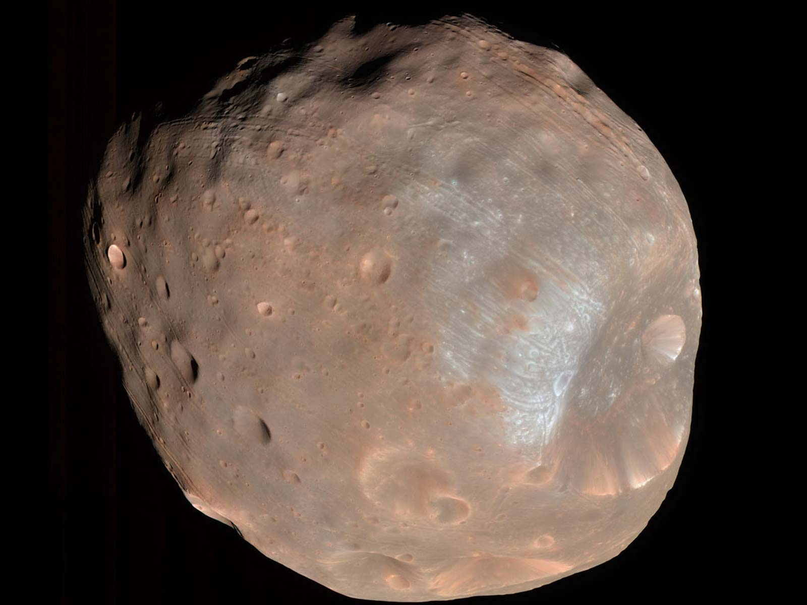 Phobos: A Doomed Moon | Space Wallpaper