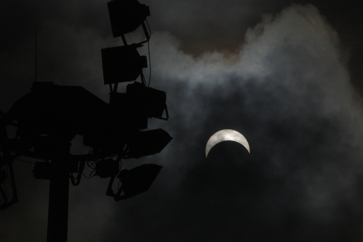 March 2016 Total Solar Eclipse Seen in Singapore