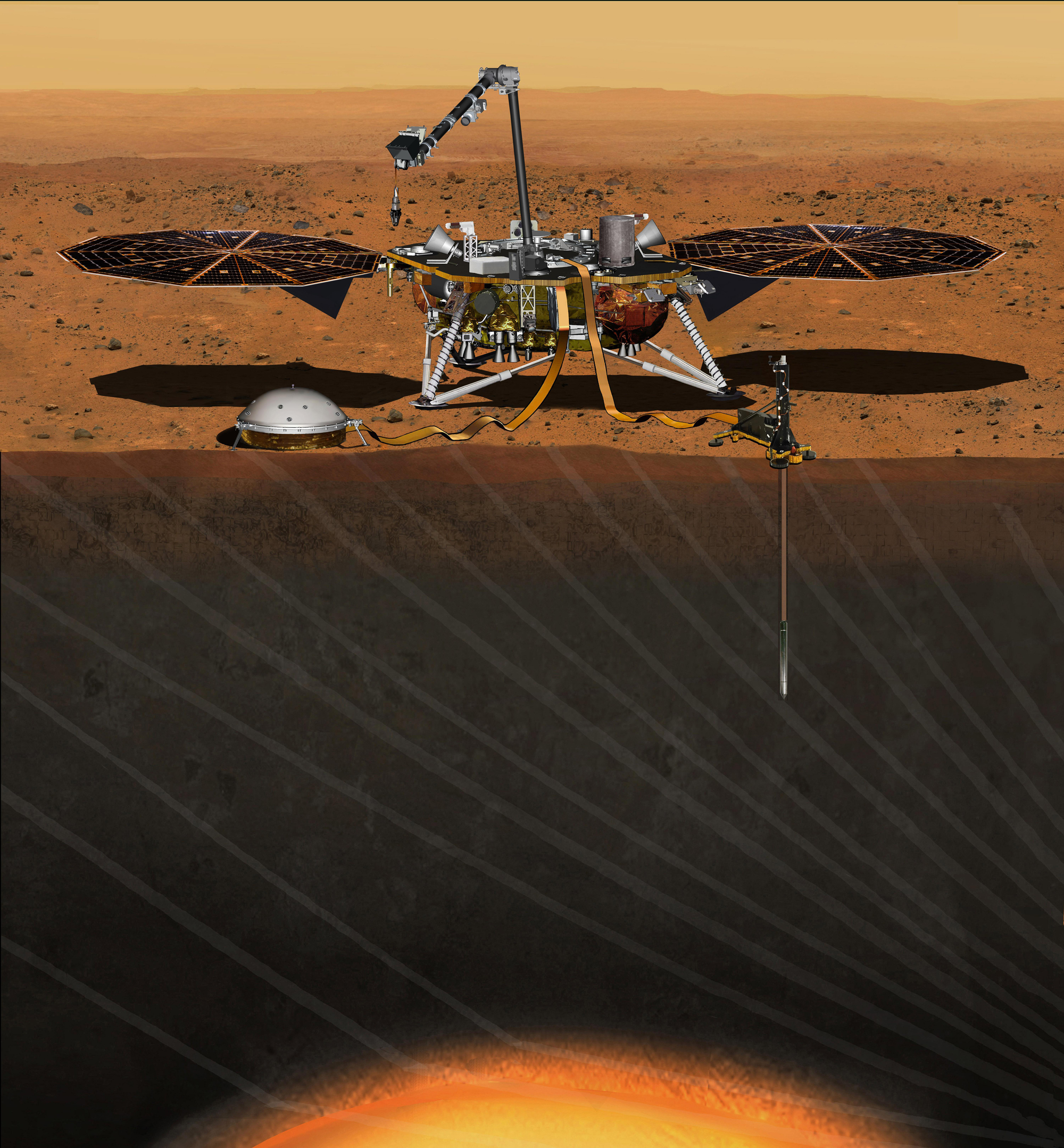 NASA Aims to Launch Troubled Mars Lander in May 2018