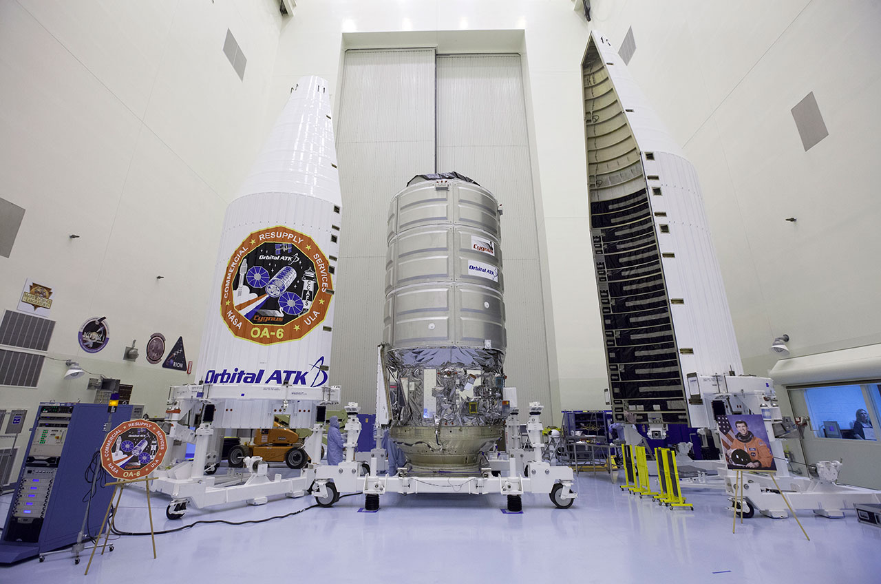 Orbital ATK Names Space Station Freighter for Fallen Columbia Astronaut