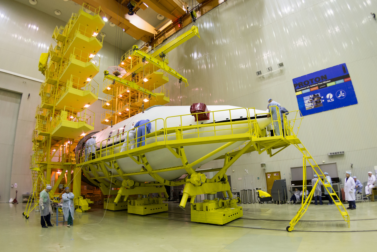 EXOMARS 2016 Spacecraft Encapsulated