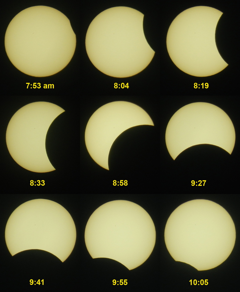 Eclipse Images from the Northern Philippines