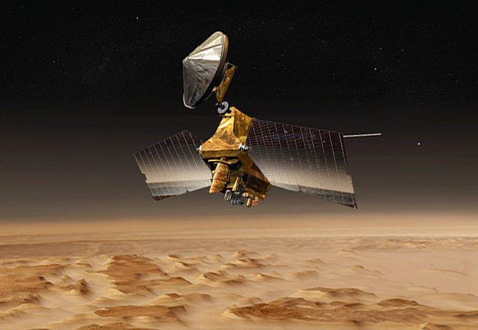 NASA's Mars Reconnaissance Orbiter at the Red Planet