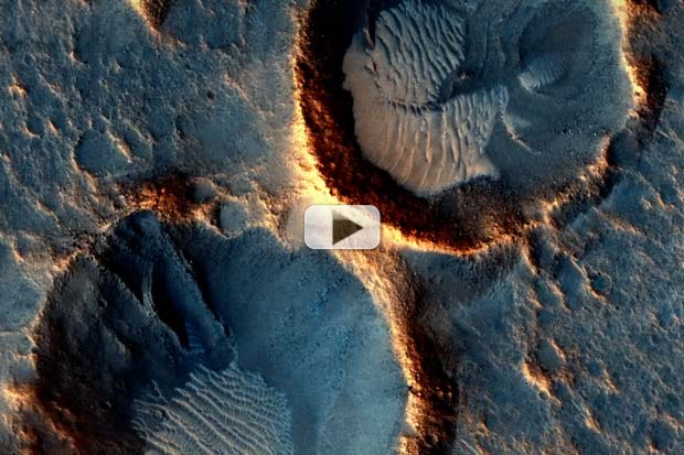 Red Planet Majesty - A Decade of Mars Orbiter Science Images | Video