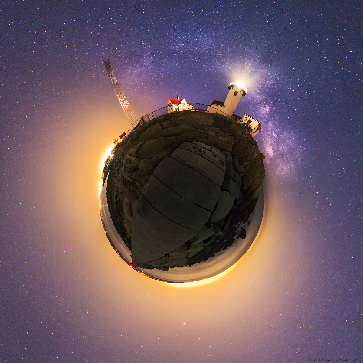 Cool! Astrophotographer Combines Fish-Eye Views of Milky Way for Stunning View