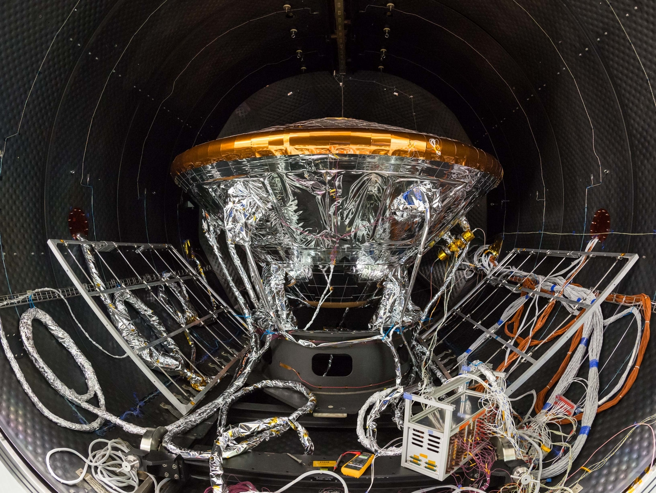 ExoMars' Schiaparelli Lander Model Tests