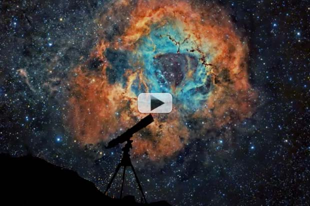 Soothing Sights and Sounds of 'The Armchair Astronomer' | E-book Video Preview