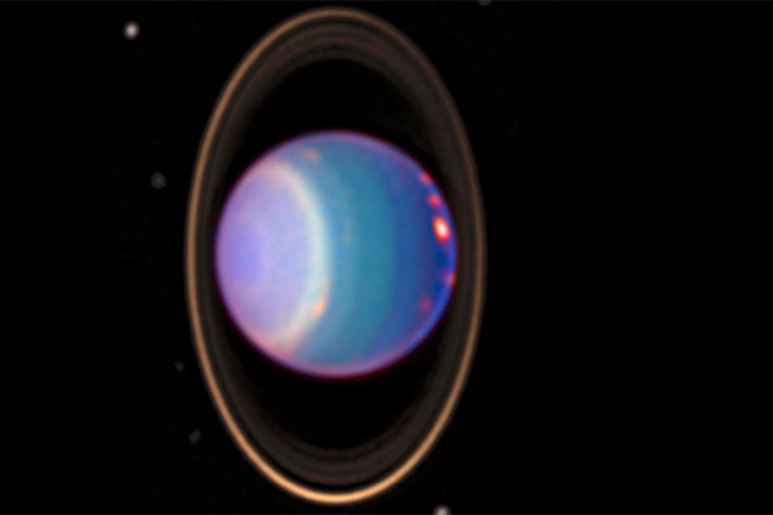 Uranus has rings