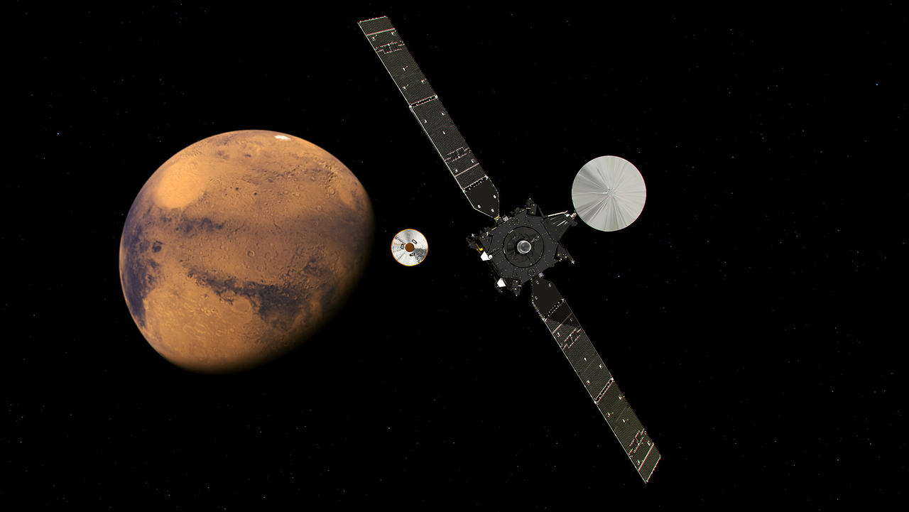 European Space Agency's ExoMars 2016 Mission