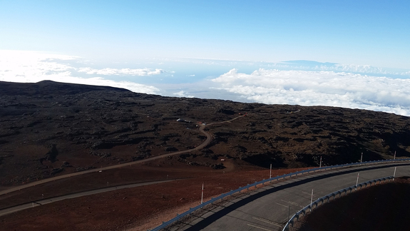 The proposed site of the Thirty Meter Telescope.