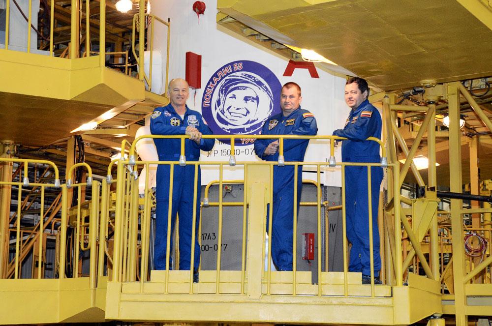 'Year of Yuri Gagarin' Logo Added to Rocket Launching Next Space Station Crew