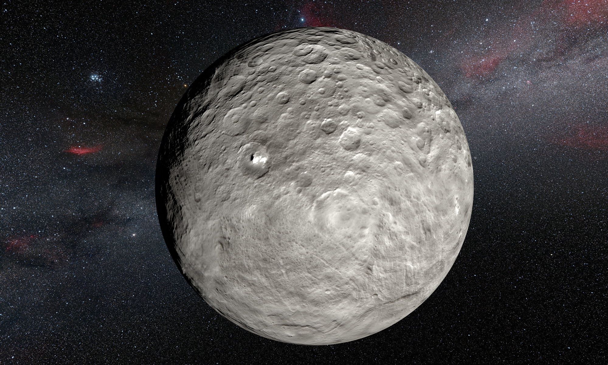 Ceres Illustration - Dawn Data