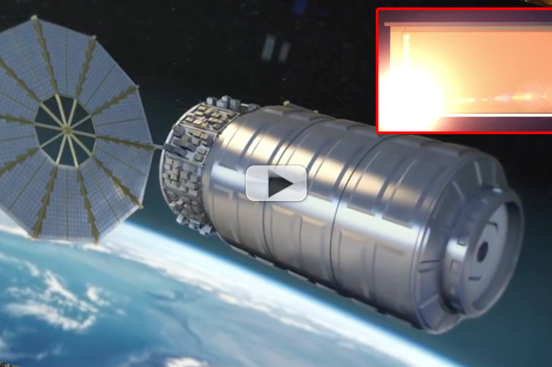 Largest Fire In Space Will Be An Intentional Test | Video
