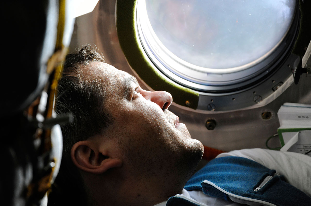 Station-Bound Cosmonaut First to Bookend Spacecraft Missions