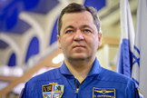 Oleg Skripochka is seen ahead of his Soyuz TMA-20M qualification exams on Feb. 24, 2016 in Star City, Russia.