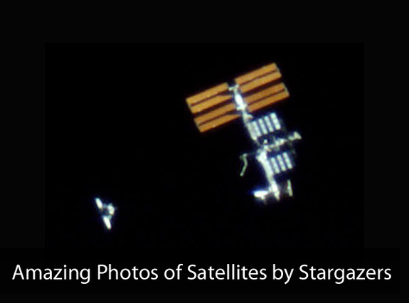 How To Spot Satellites Space Science News - Satellite from earth