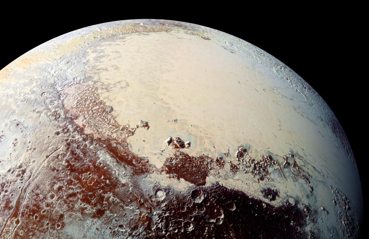 Sputnik Planum Western Region
