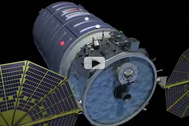 'Big Box Of Goodies' For Space Station – Cygnus CRS-6 | Video