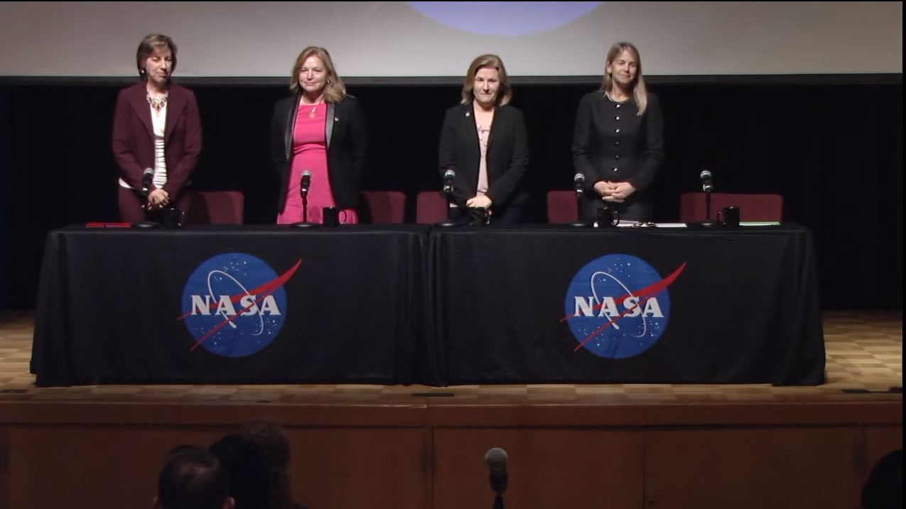 NASA's Female Leaders Share Challenges of Working in Male-Dominated Field