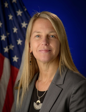 Dava Newman, NASA's current deputy administrator.