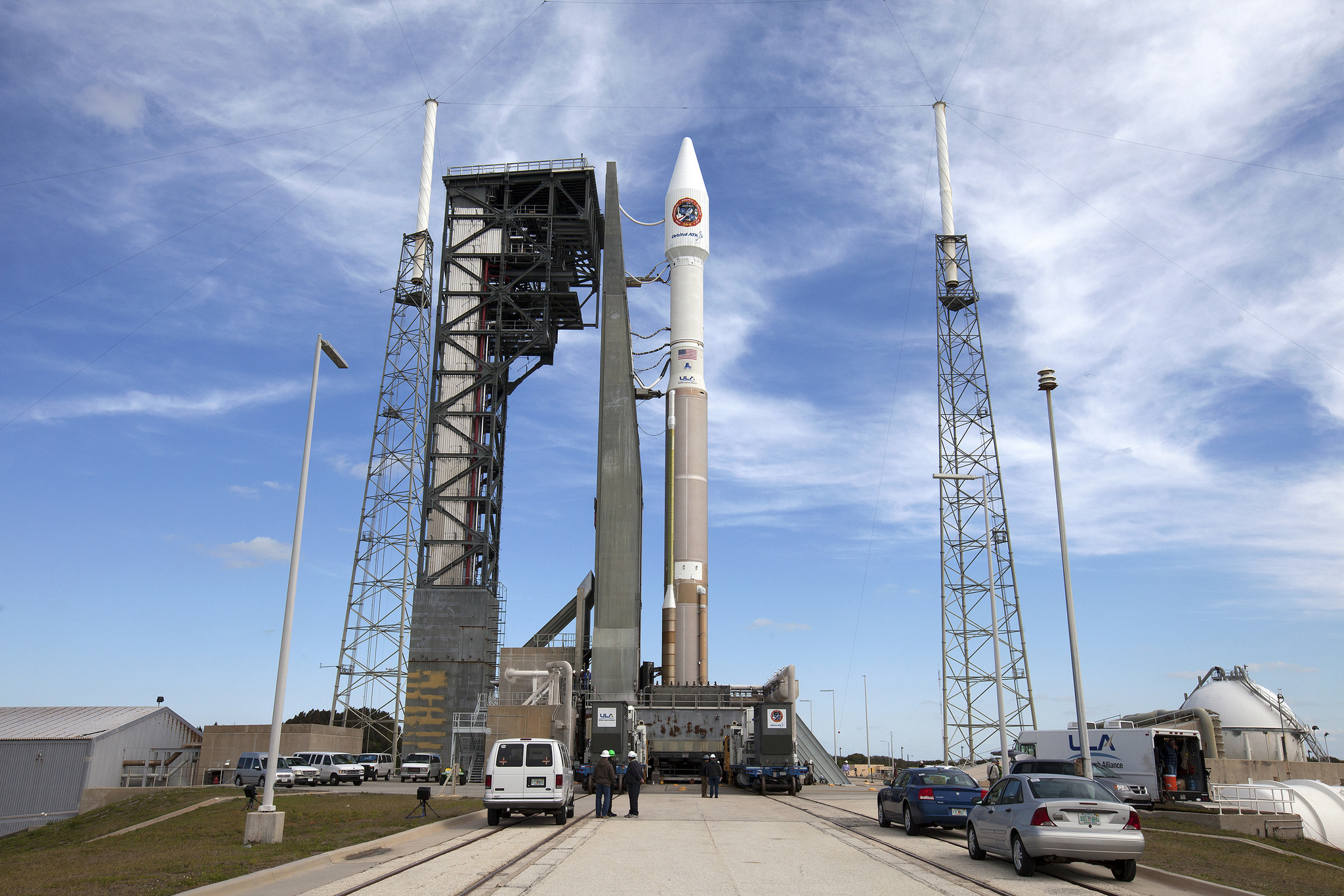 A United Launch Alliance Atlas V rocket will launch an unmanned Orbital ATK Cygnus spacecraft from Florida's Cape Canaveral Air Force Station on March 22, 2016 to deliver nearly 3.5 tons of supplies for astronauts on the International Space Station.