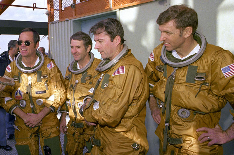 First Space Shuttle Astronauts to Celebrate Flights' 35th Anniversaries