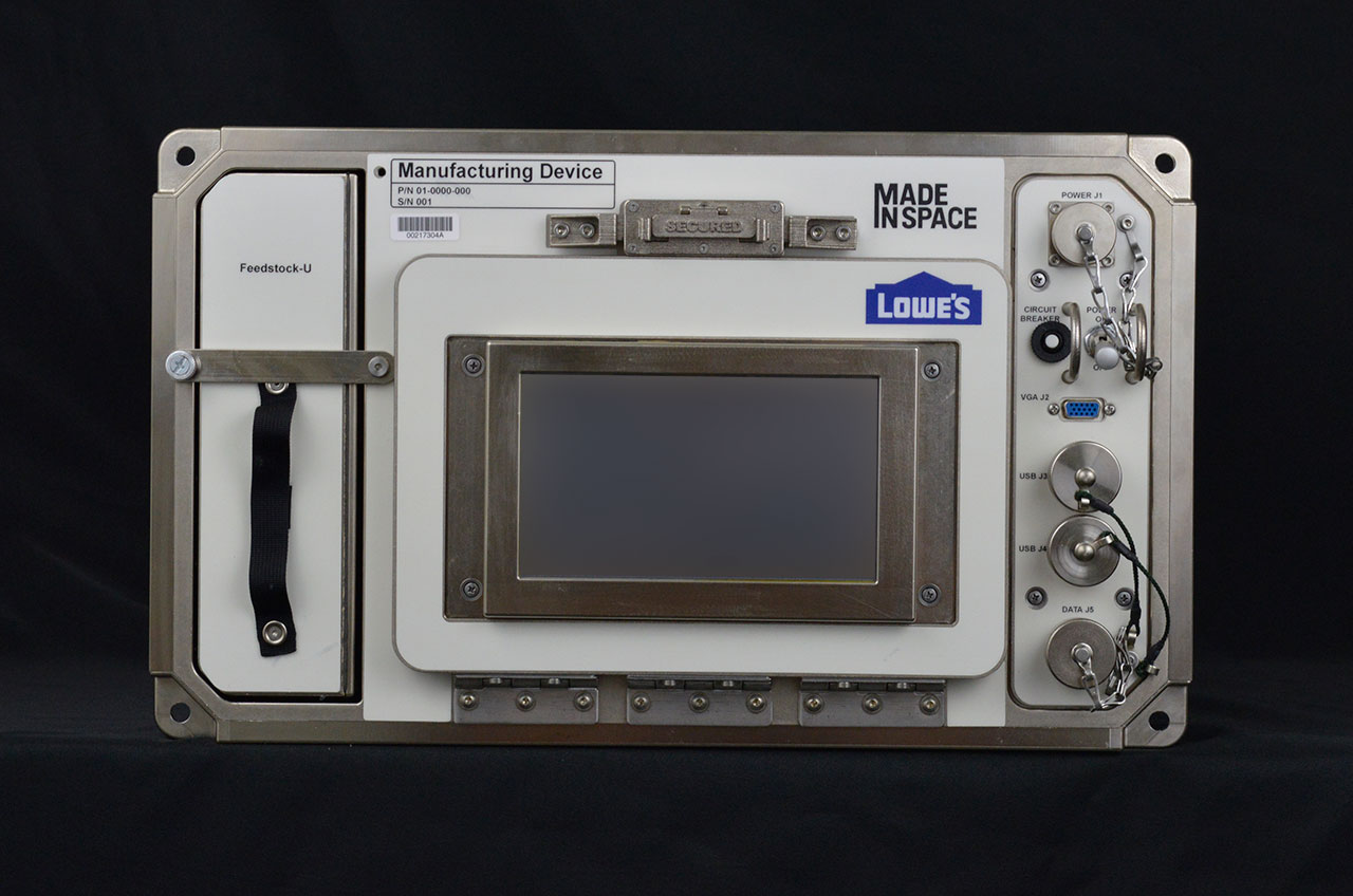 First Retailer in Orbit: Lowe's and Made In Space Send 3D Printer to Station