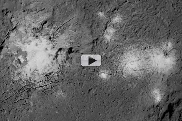 Dwarf Planet Ceres Features In New Detail | Video