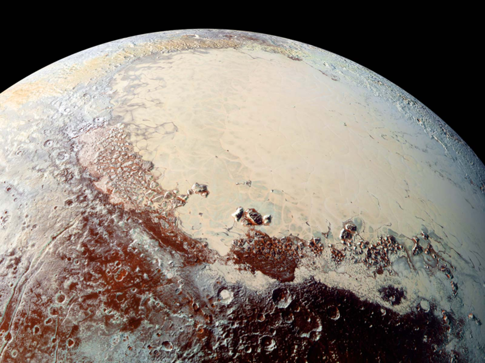 Pluto, As Seen by New Horizons | Space Wallpaper