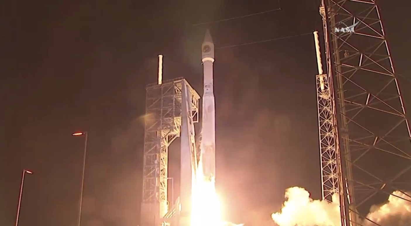 Cygnus Cargo Spaceship Launches, March 22, 2016