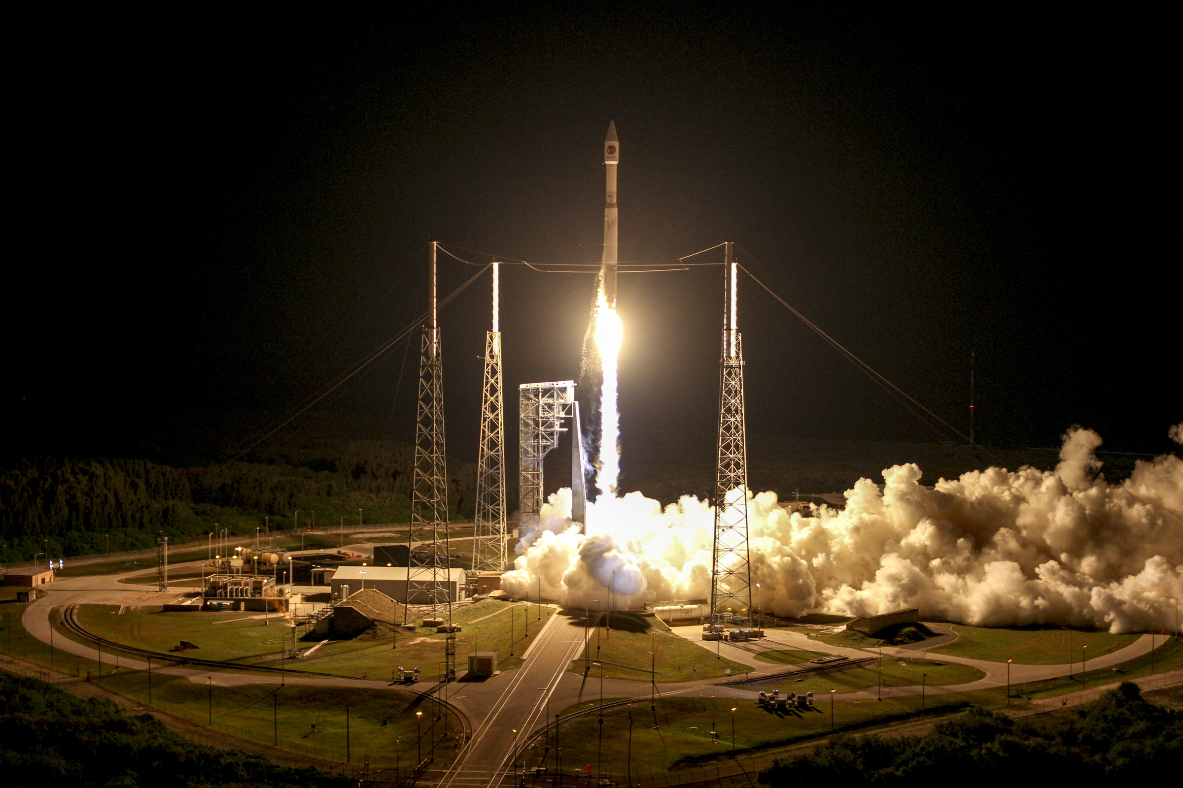 Cygnus Cargo Ship Launches, March 22, 2016