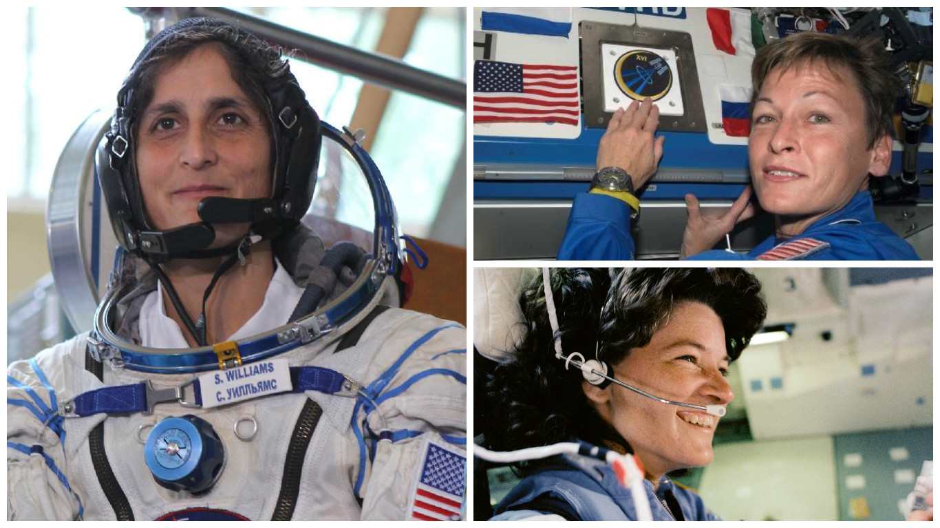 Record-Breaking Women in Spaceflight History