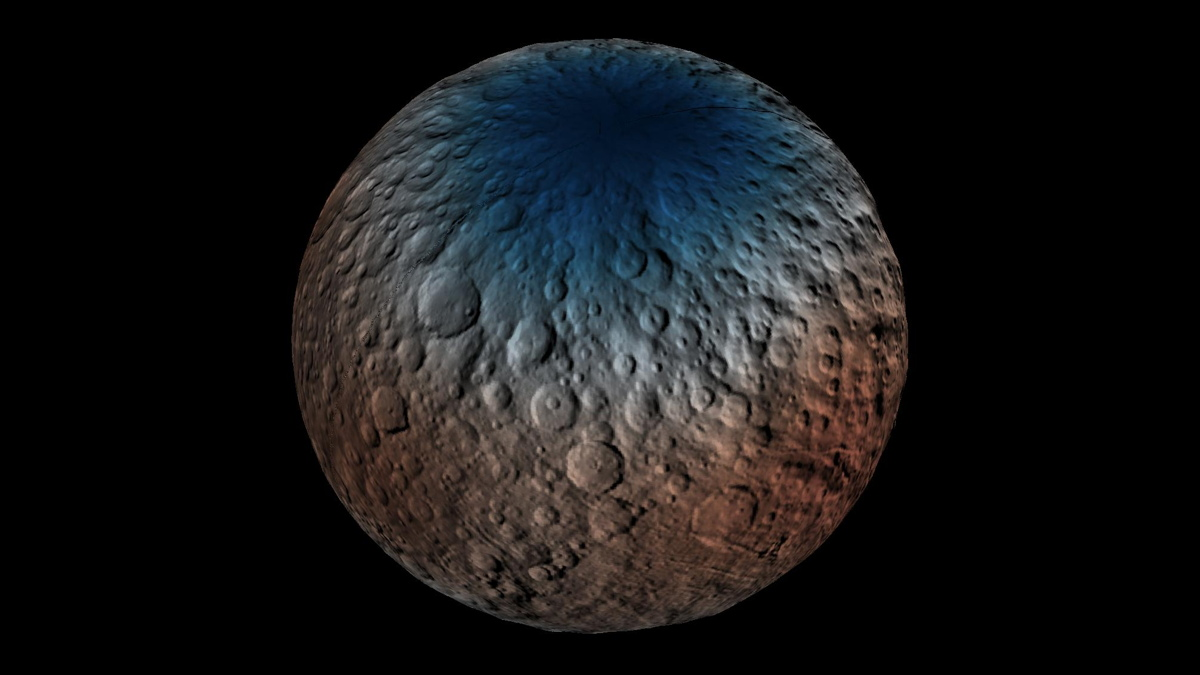 Ceres Neutron Counts