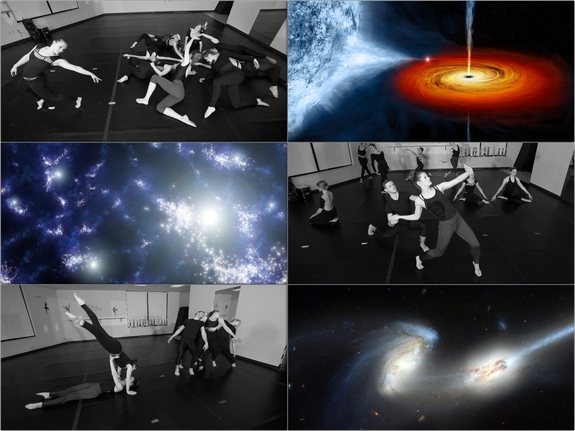 "A collage of images from ""Song of the Stars."""