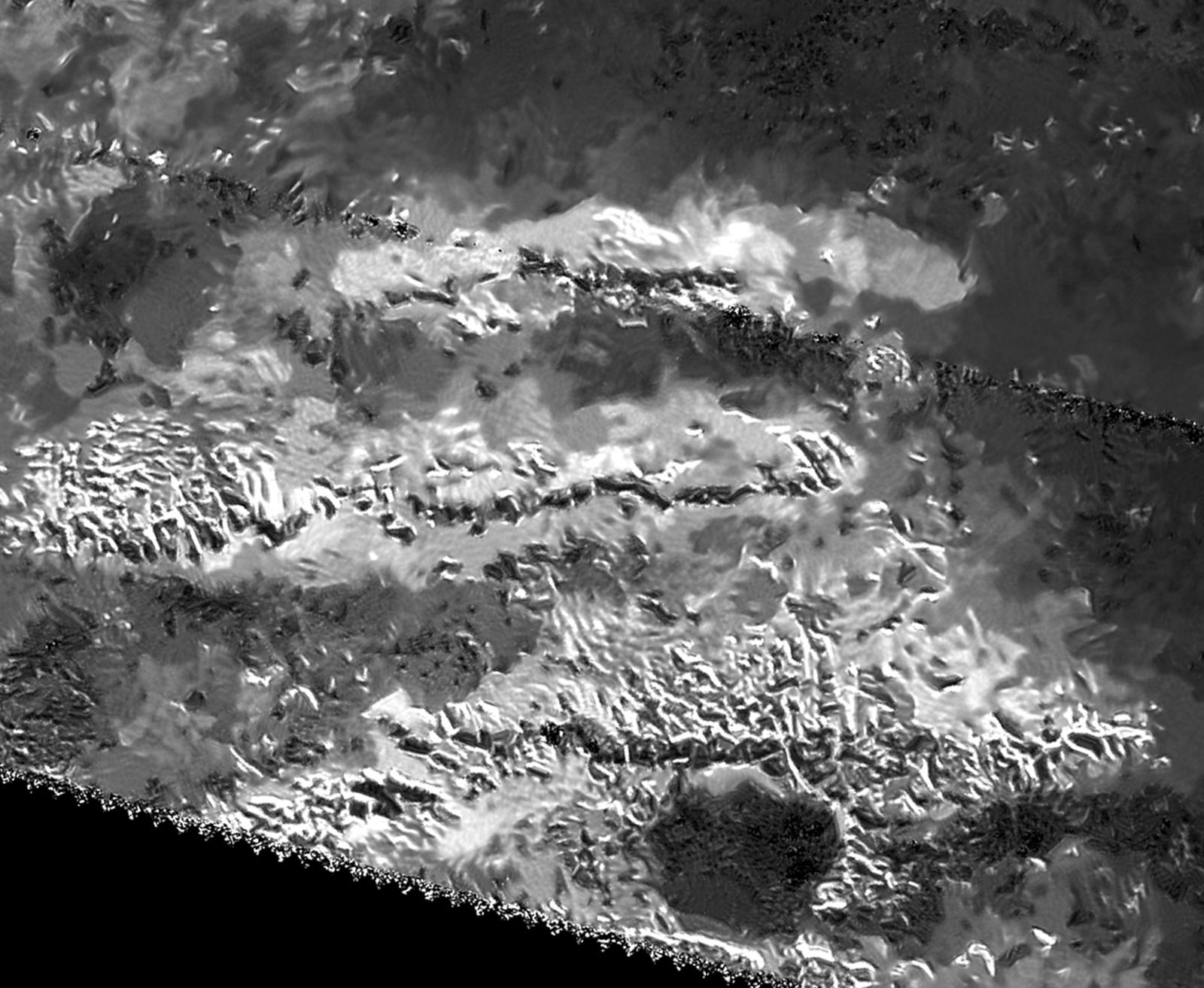 Tallest Peak on Saturn's Huge Moon Titan Identified (Photo)