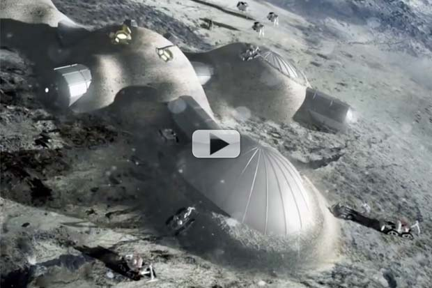 International 'Moon Village' Is Way To Go According To European Space Agency  | Video