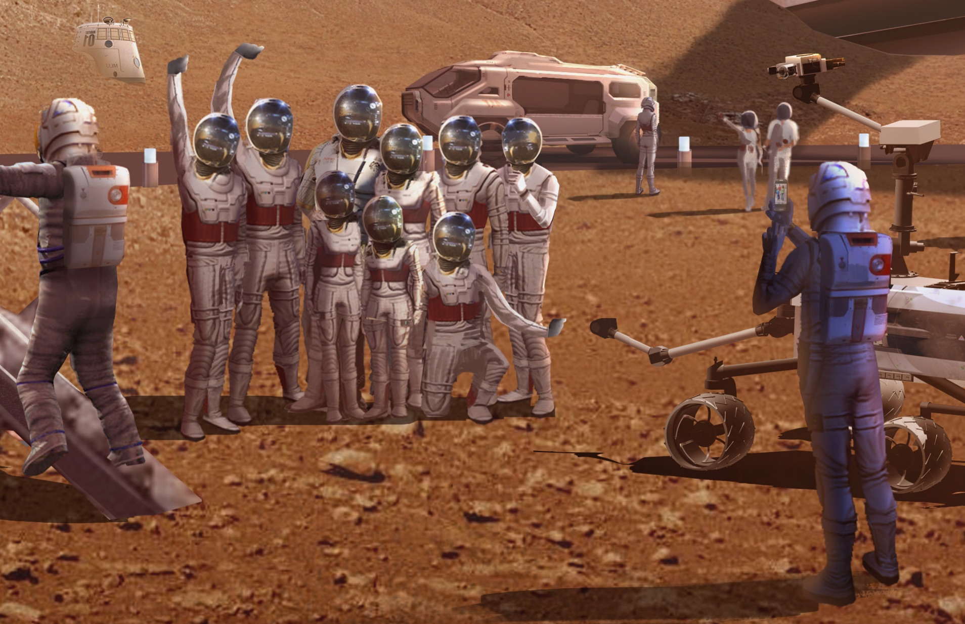Viva 'Mars World': Las Vegas May Get Red Planet Experience
