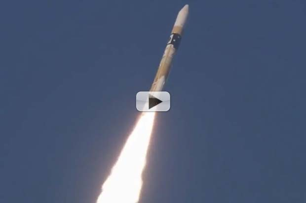 'Hitomi' X-ray Satellite Launched By JAXA | Video